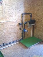 Dávkování plynného chloru řízené deskou MaR